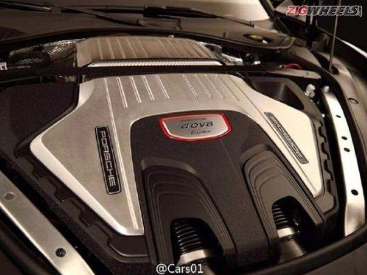 2017 Porsche Panamera Turbo Engine Bay