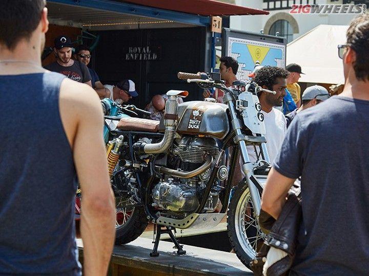 Royal Enfield Unveils First Ever Factory-Built Custom Bikes - ZigWheels