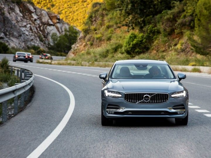 volvo S90 First Drive Review front