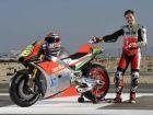 Aprilia RS-GP MotoGP bike breaks cover