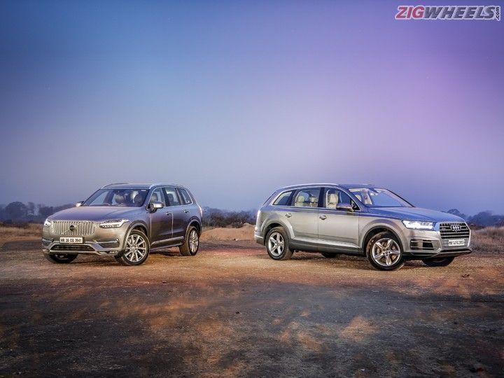 New Audi Q7 Vs New Volvo Xc90 Comparison Review