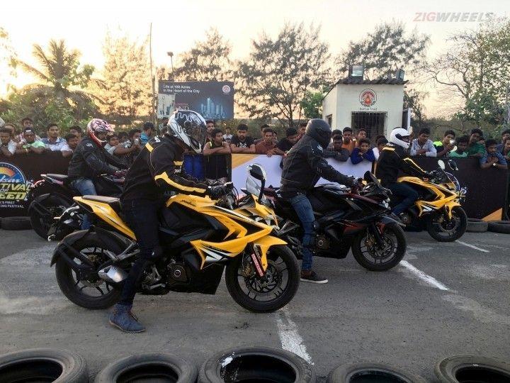 Bajaj Pulsar Festival of Speed Mumbai
