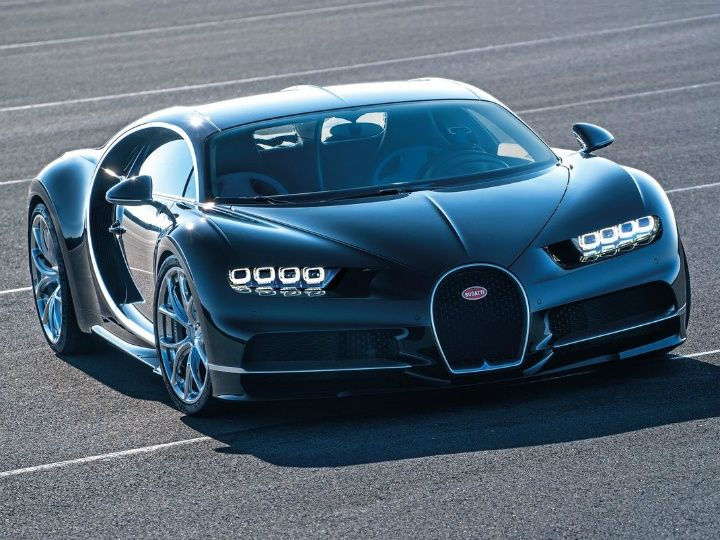 Bugatti Chiron with 1500PS revealed - ZigWheels