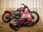 Guy Martin sets new wall of death speed record