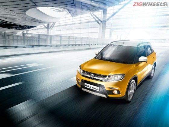 Maruti Suzuki Vitara Brezza variants explained