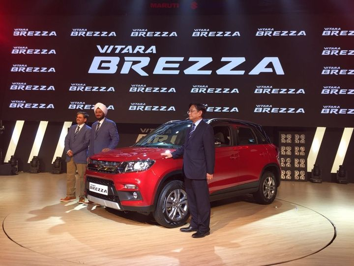 Vitara Brezza Launched