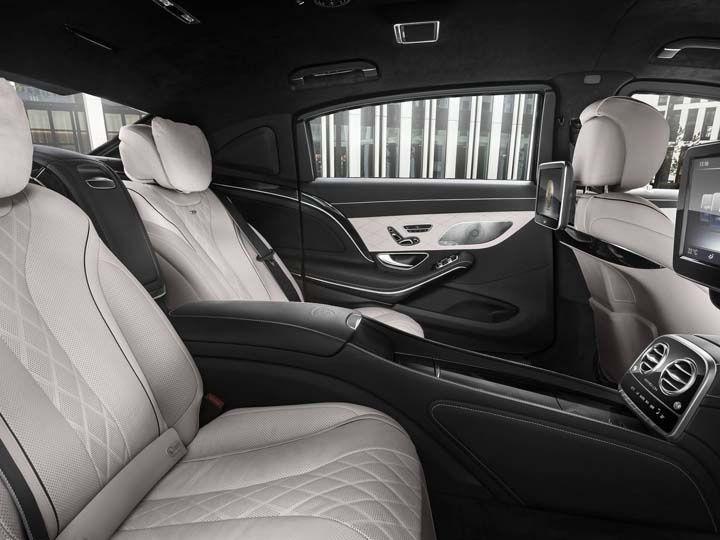 mercedes maybach s600 guard interiors