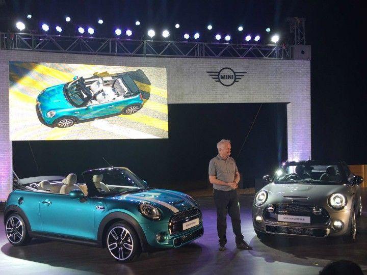 Mini Cooper S COnvertible launched at Rs 34.9 ex-showroom Delhi