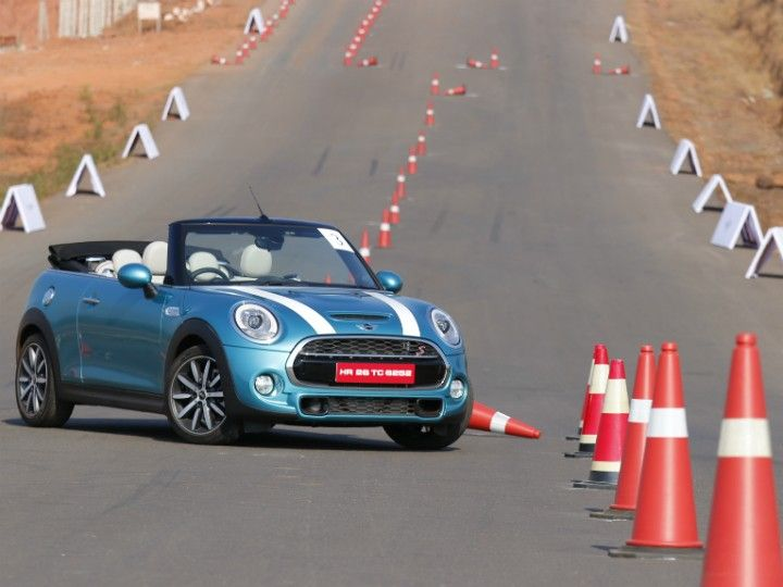Mini Cooper S Convertible First Drive front image