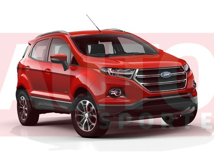 2017 Ford EcoSport Rendering