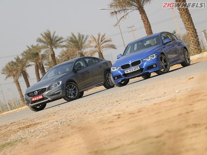 Volvo S60 Cross Country vs BMW 320d M sport