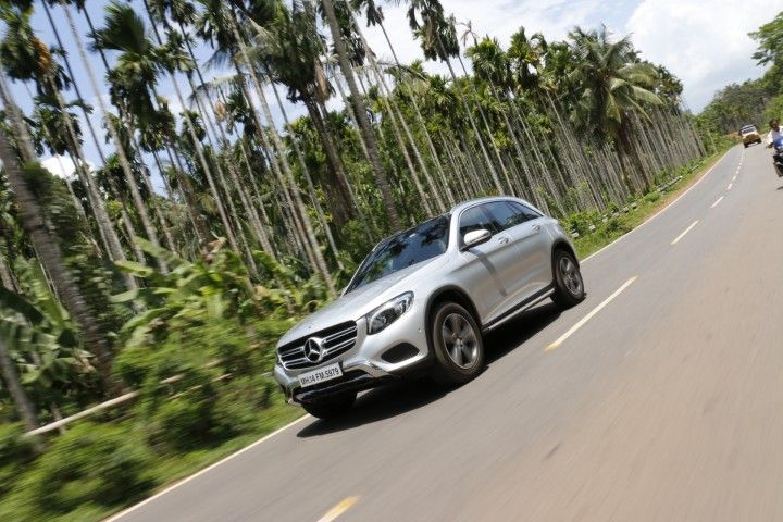 Mercedes-Benz GLC India Review front tracking