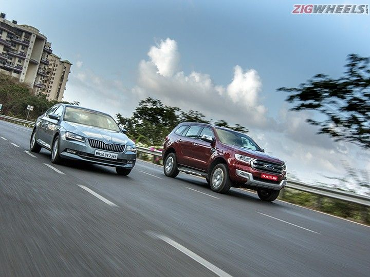 Skoda Superb vs Ford Endeavour: Comparison Review