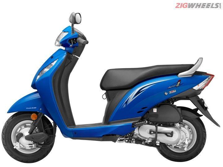 2016 Honda Activa i - Candy Jazzy Blue