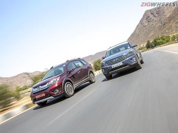 Honda BR-V vs Hyundai Creta