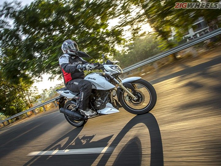 TVS Apache RTR200 4V Review