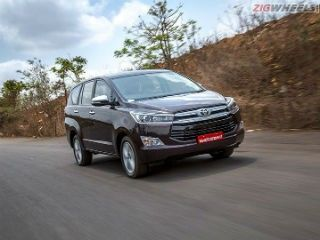Toyota Innova Crysta: Special Coverage