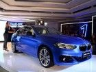 BMW 1 Series Makes Public Debut In China