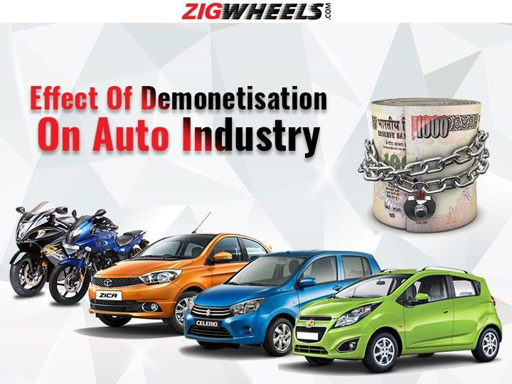 Effect Of Demonetisation On Auto Industry
