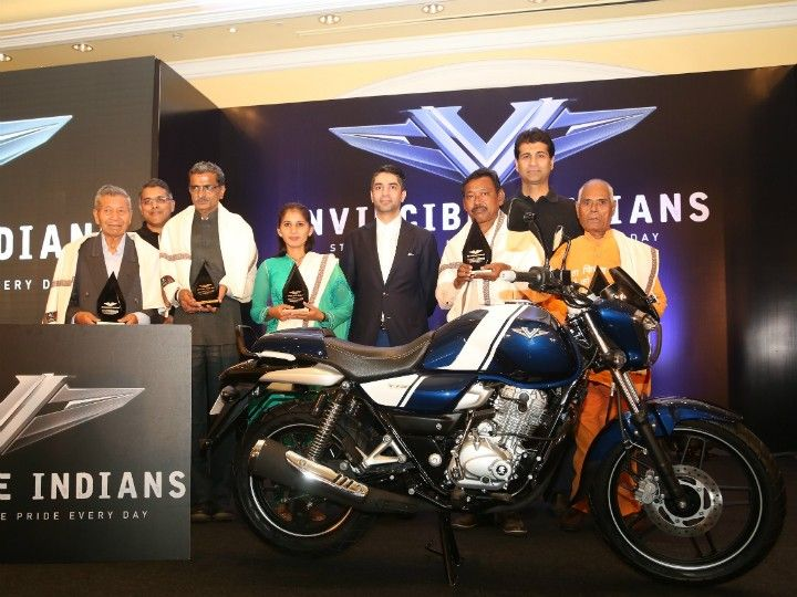 The Invincible Indians felicitated by Bajaj