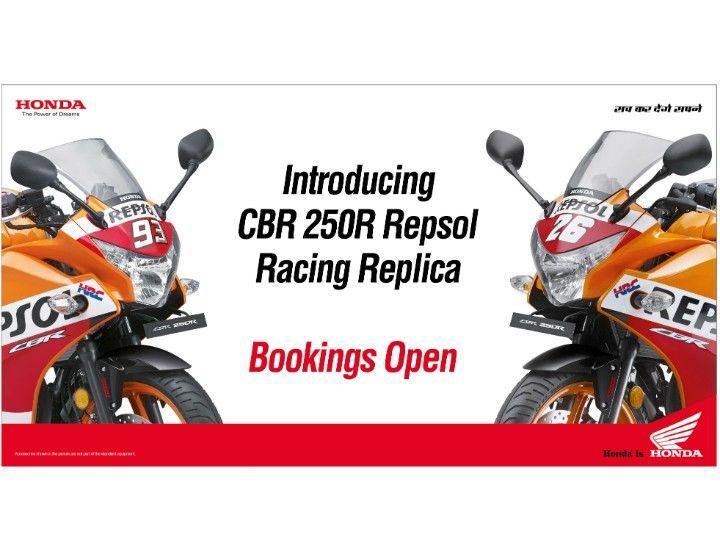 Honda Launches Repsol Honda Racing Replica Limited Edition Of Cbr