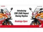 Honda Launches 'Repsol Honda Racing Replica Limited Edition' Of CBR 250R