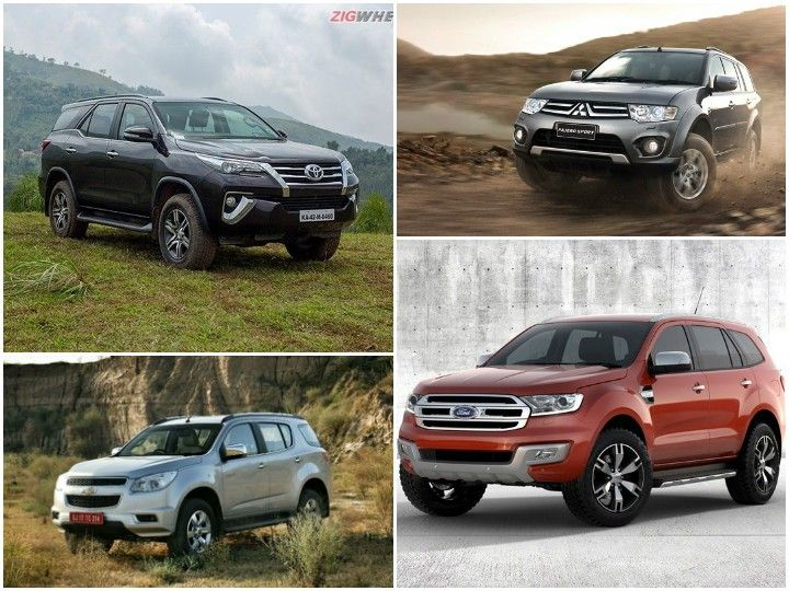 Spec Comparo: Toyota Fortuner Vs Ford Endeavour Vs Chevrolet