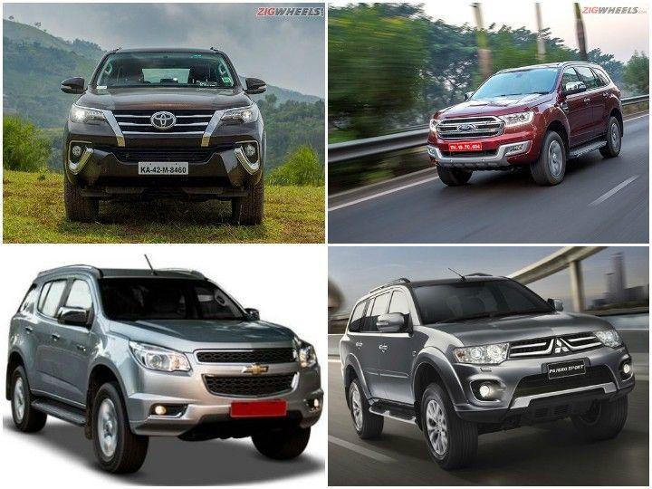 Spec Comparo: Toyota Fortuner Vs Ford Endeavour Vs Chevrolet