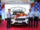 Hyundai Motor India Rolls Out 7-Millionth Car