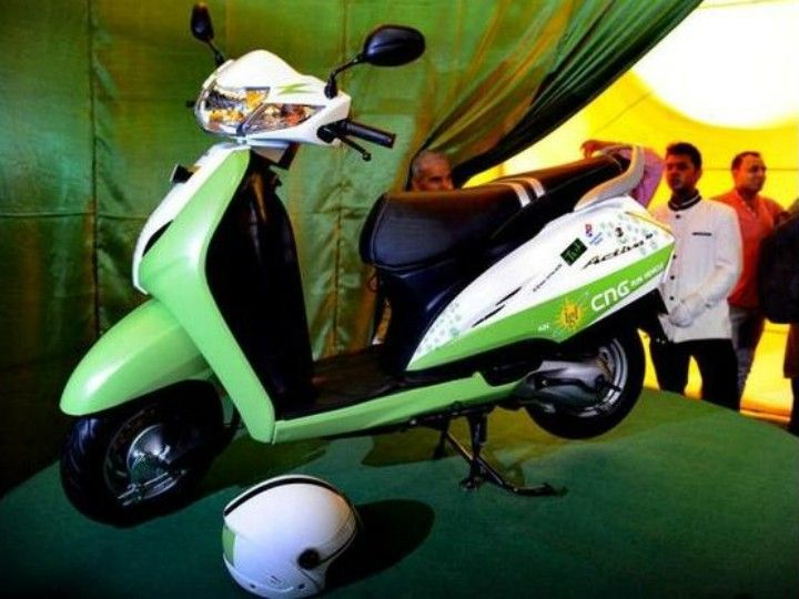 CNG Kits For Scooters Launched In Pune - ZigWheels