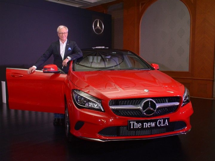 Mercedes-Benz new CLA launched