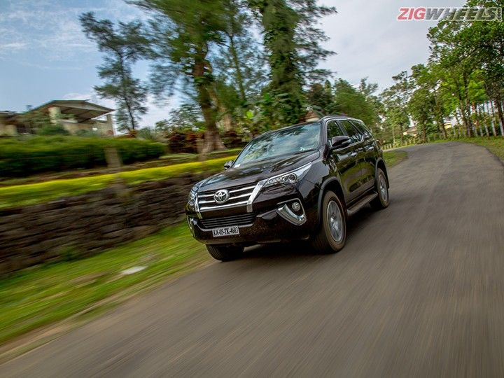 New Toyota Fortuner: Front Three Quarters