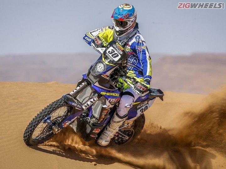 Exclusive Sherco Tvs 2017 Dakar Bike Ridden Zigwheels