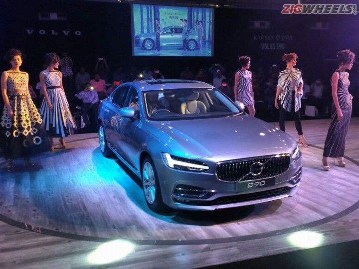 Volvo S90 Launched At Rs 53 5 Lakh Zigwheels