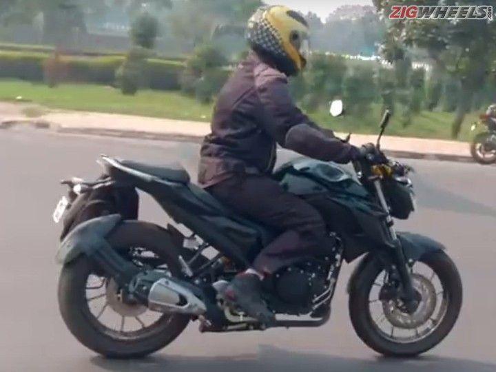 Yamaha Fazer 250: Profile View