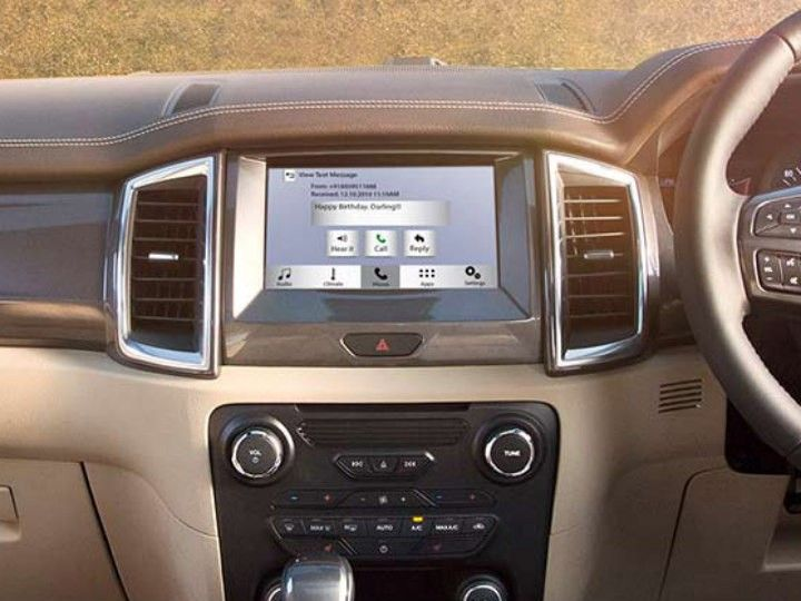 Ford Endeavour Now Available With SYNC 3 - ZigWheels