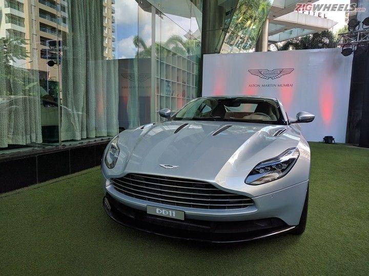 Aston Martin Db11 Showcased Prices Start At Rs 3 97 Crore Zigwheels