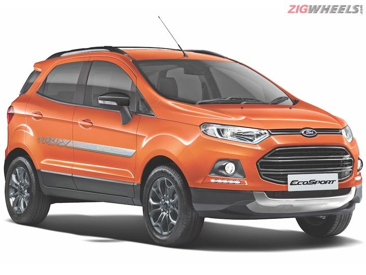 Ford EcoSport Signature Edition Range