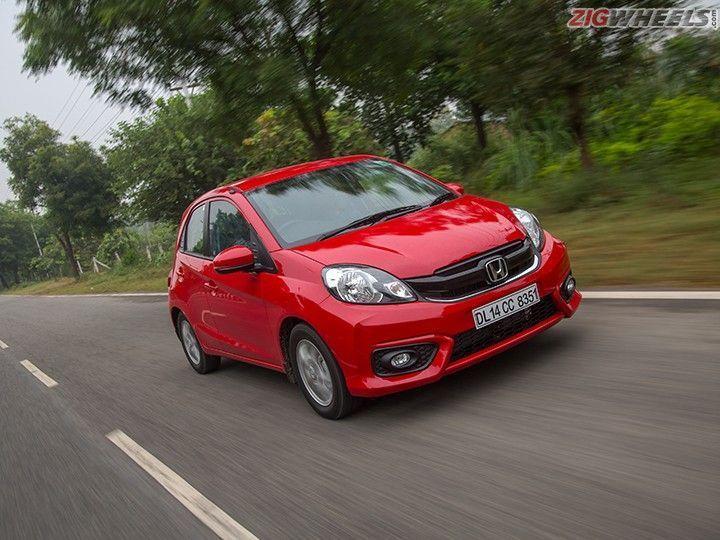 Honda Brio Facelift: Action Pic