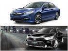 Clash Of The Titans: Honda Accord Hybrid Vs Toyota Camry Hybrid