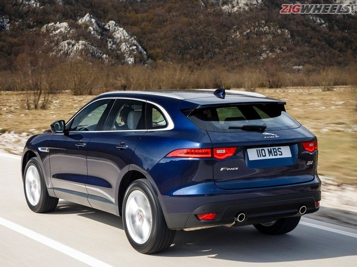jaguar f pace prices announced launch on october 20 zigwheels. Black Bedroom Furniture Sets. Home Design Ideas