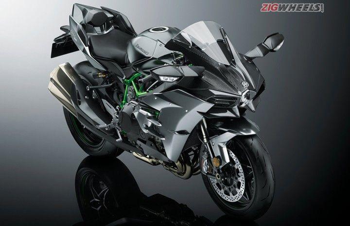Kawasaki Ninja H2 H2 Carbon And Ninja H2r Launched In India Zigwheels