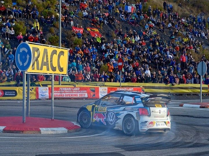 Sebastian Ogier and Julien Ingrassia at Rally of Spain