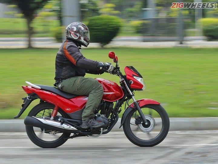 Hero MotoCorp Achiever 150: Panning Pic