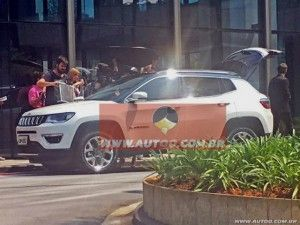 India-bound Jeep Compass Spied In Brazil