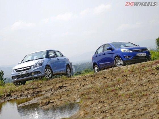 Maruti Swift Dzire AMT vs Tata Zest AMT: Comparison Review