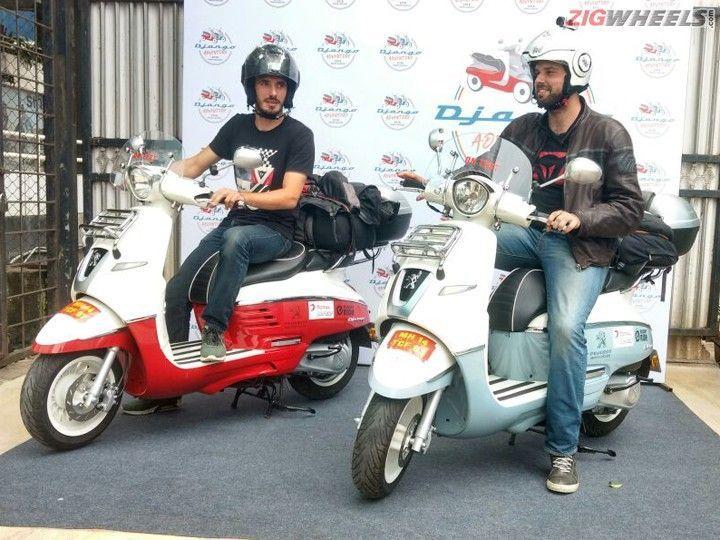 Peugeot motorcycles announces india leg of paris saigon for Garage scooter peugeot paris