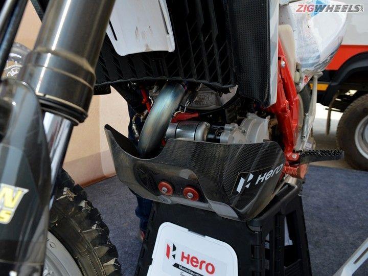 The Secrets Of Hero Motosport Team Rally S Enduro Bike