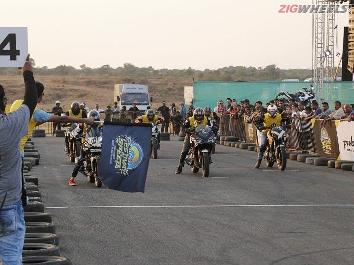 Round Five of Bajaj Pulsar Festival Of Speed Concludes On A High Note