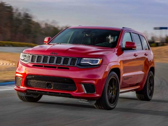 Jeep Grand Cherokee Trackhawk Is A 707ps Monster Zigwheels